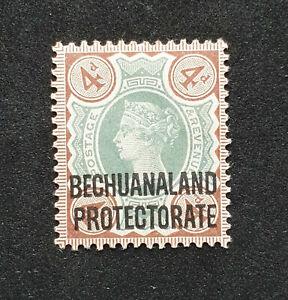 Bechuanaland QV SG 64 Cat £28.00 Mounted Mint