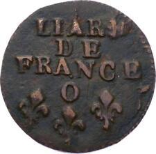 O2837 RARE R2 Liard de France Louis XIV O Rioms ->MAke offer