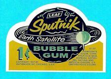 """""""SPUTNIK"""" GUM GUMBALL VINYL STICKER / DECAL GUM BALL MACHINE RETRO VINTAGE"""