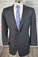 Joseph Abboud Mens Gray Wool BIG TALL Pleated Front 2 Piece Suit 48L 41x28