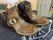 Freebird Booties Truce Beautiful Distressed Leather Size 8 New In Box