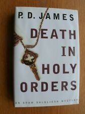 P.D. James Death in Holy Orders 1st Canadian ed SIGNED Fine
