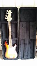 Harmonia Bass Guitar with Hard Travel Case
