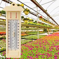 Max Min Thermometer-Garden Greenhouse Wall Temperature Monitor -40 to 50℃ / 120℉