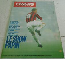 EQUIPE MAGAZINE N°582 1993 JPP PAPIN AC MILAN GOVEN BAYLE RUGBY NORGE SENNA F1
