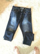 Signature Levi Strauss & Co. Men's Skinny Denim Distressed Jeans Size 28 30