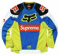 Supreme x Fox Racing Moto Jersey Top Multi color 2018Ss Size S Japan Used