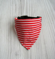 Halsband verstellbar Halsumfang 30-33 cm Hundetuch Hundehalstuch Hundebekleidung