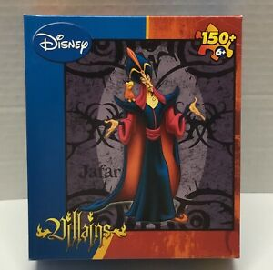 New Sealed Puzzle Disney Villians Jafar 150 piece