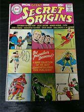 1961 DC COMICS SECRET ORIGINS #1 VG+ SUPERMAN WONDER WOMAN BATMAN GREEN LANTERN