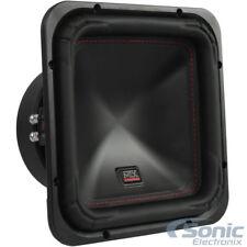 "MTX S6510-44 10"" 1000W Peak 500W RMS Square Subwoofer Car Audio DVC 4-ohm"