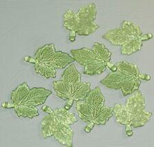 10 Confettis plastique Feuille Arbre Vert Décoration de Table Mariage Fête