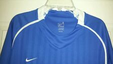 Nike FC Soccer Football Varsity Jersey Shirt Mens Dri Fit Royal Blue Medium