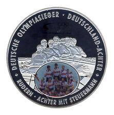 DEUTSCHLAND - DEUTSCHLAND-ACHTER - OLYMPIASIEGER 2012 - SILBER - FARBE ANSCHAUEN