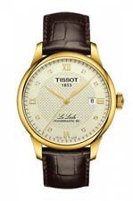 Tissot Le Locle Powermatic 80 Ivory Dial LTHR Band Men Watch T006.407.36.266.00