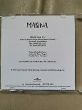 """Marina And the Diamonds Promo Cd """"About Love"""""""