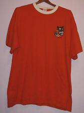 Vintage 80s Boys Scouts Of America BSA Tiger Cub 50/50 T Shirt Orange XL