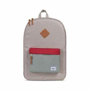 NWT Herschel Supply Co. Heritage Laptop Backpack Khaki Shadow Nwt