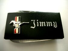 knife & Naifile -Free Engraving Personalized Ford Mustang Money Clip with