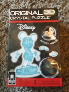 New sealed 3D Crystal Puzzle - Mickey Mouse 37 Pcs disney