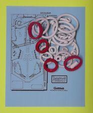 1988 Gottlieb / Premier Excalibur pinball rubber ring kit