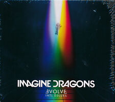 Imagine Dragons Evolve Intl Deluxe CD NEW extra track Levitate