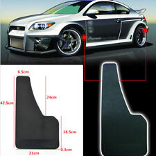 2x Black Plastic Mud Flaps Mud Guard Truck Car Fender For Front / Rear Wheel