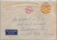 GP GOLDPATH: CURACAO COVER 1940 AIR MAIL _CV570_P23