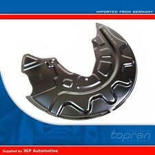 Brake Disc Cover Plate Front Right - Audi A3 [2012-On] 5Q0615312F Please Check!
