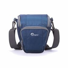 LowePro Toploader Zoom 45 AW II (Blue) Holster Style<-Free US Shipping All New!