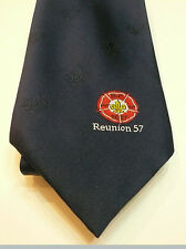 2007 World Scout Jamboree Official WSJ MONDIAL 1957 REUNION SOUVENIR TIE ~ MINT