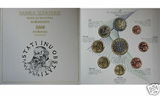 manueduc   ESLOVENIA 2008CARTERA OFICIAL DE ESLOVENIA 2008  9 Monedas con 3 Eur