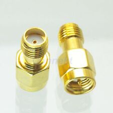 1pce SMA male plug to SMA female jack in seriesl RF adapter connector