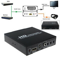 Scart/HDMI To HDMI 720P 1080P HD Video Converter Monitor Box For HDTV STB