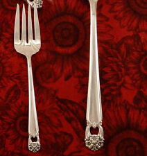 VG 1847 Rogers Eternally Yours Meat or Serving Fork Vintage 1941 Silver Plate