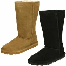 Ladies Bearpaw Elle Tall Real Sheepskin Lined Casual Boots