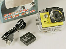 PRL) ACTION CAM HD 1080P CAMERA WATERPROOF VIDEOCAMERA SPORT ACCESSORI NO GO PRO