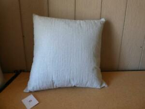 """$135.00  Hotel Collection White Wave Seaglass 22"""" x 22"""" Decorative Pillow"""