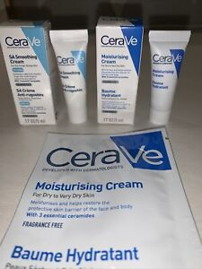 Cerave SA Smoothing Cream& Moisturising cream