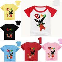 BING BUNNY Maglietta Bambini Maglia T-shirt Bimbi 2-14 anni