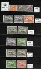 WC1_9005. NICARAGUA. Nice lot of 1929-32 air mail stamps & sets. Used