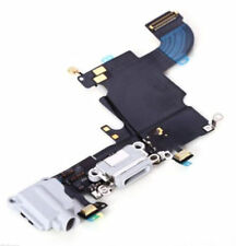 White Charging Port Parts for iPhone 6