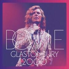 DAVID BOWIE: GLASTONBURY 2000 (With DVD) (CD) box set - sealed