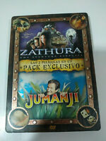 ZATHURA - JUMANJI - STEELBOOK - PACK EXCLUSIVO 2 x DVD