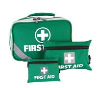 TGA Premium 258pcs First Aid Kit Family Supplies Medical Workplace Travel Bag