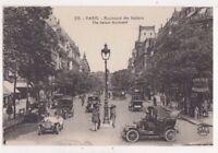 Paris Boulevard Des Italiens France Vintage Postcard US071