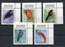 Papua Neuguinea 672/76 postfrisch / Vögel ................................1/2894