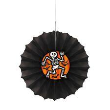 Halloween hanging scared bat skeleton paper dec fan