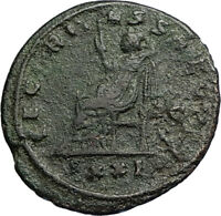 PROBUS Authentic Ancient RARE Genuine 277AD Siscia Roman Coin w SECURITAS i67583