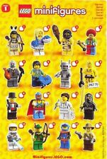 Lego 8683 Collectible Minifigures Series 1 Complete Set of 16 Minifigs